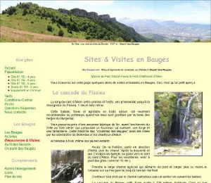Page visites, version 2.00 de WWW.GITE-BAUGES.COM